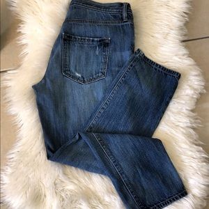 LOFT button fly boyfriend jeans sz 29